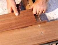 Memasang Decking Kayu 14