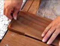 Memasang Decking Kayu 13