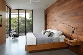 lantai kayu dinding kamar