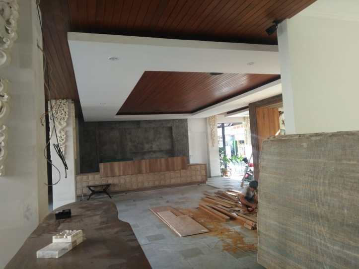 plafon kayu di pulau bali